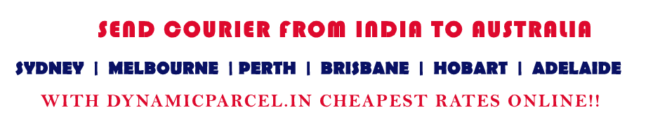 Courier to Australia from Ahmedabad