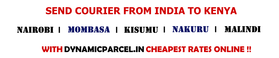 Courier-to-kenya-from-india