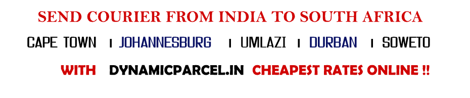Courier-to-South-Africa-from-india