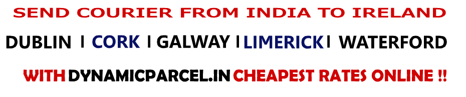 courier to ireland from india
