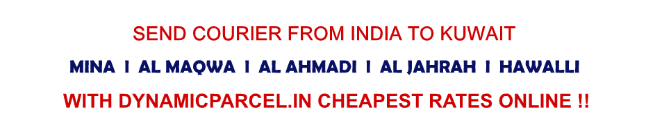 Courier to Kuwait from India