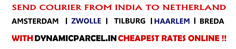 Courier to Netherlands from India
