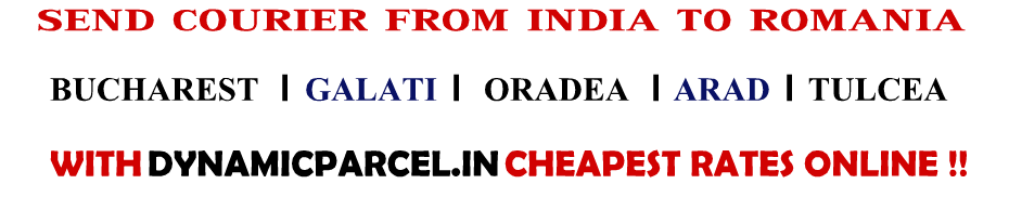 Courier to Romania from India