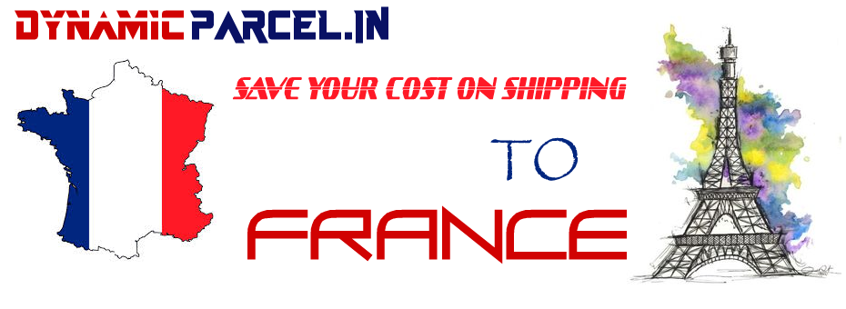 Courier to France from India