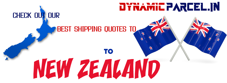 Courier to New Zealand from India