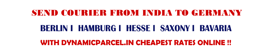 Courier to Germany from Mumbai