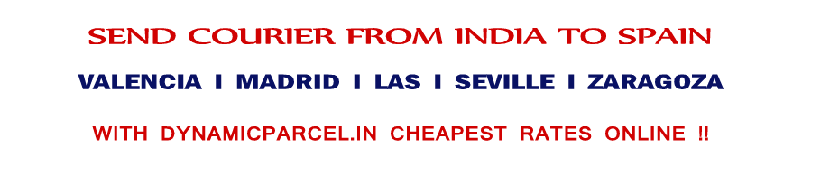 courier-to-spain-from-india