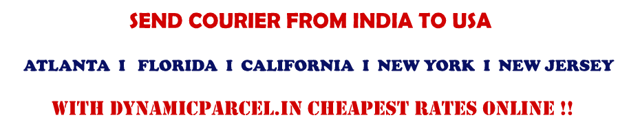 Courier to USA from Delhi