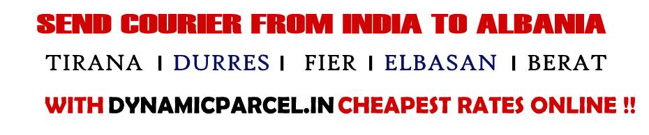 Courier to Albania from Mumbai India