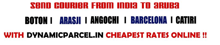 Courier to Aruba from Mumbai India
