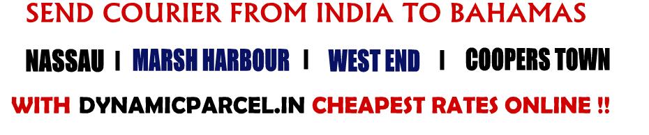Courier to Bahamas from Mumbai India