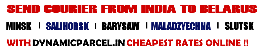 Courier to Belarus from Mumbai India