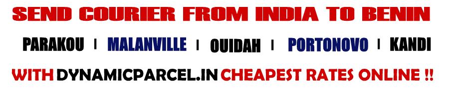 Courier to Benin from Mumbai India