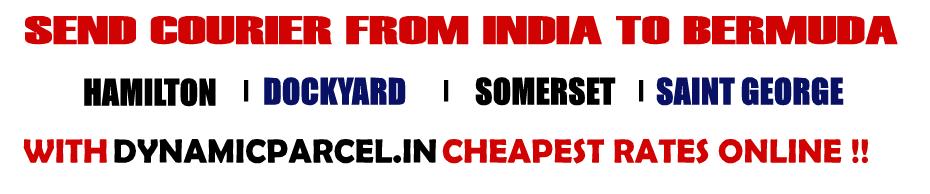 Courier to Bermuda from Mumbai India
