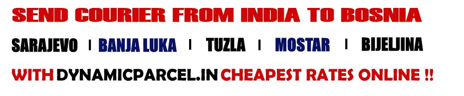 Courier to Bosnia and Herzegovina from Mumbai India