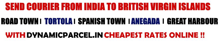 Courier to British Virgin Islands from Mumbai India
