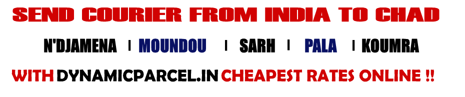 Courier to Chad from Mumbai India
