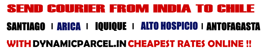 Courier to Chile from Mumbai India