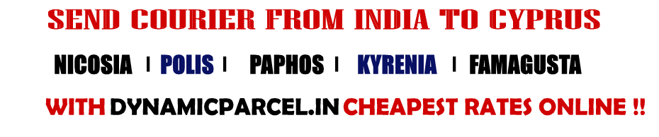 Courier to Cyprus from Mumbai India