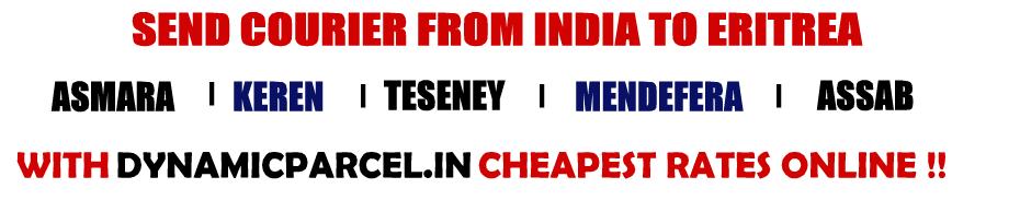 Courier to Eritrea from Mumbai India