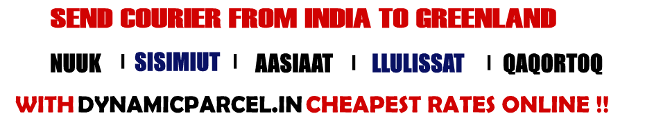 Courier to Greenland from Mumbai India