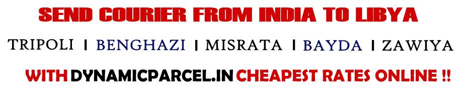 Courier to Libya from Mumbai India
