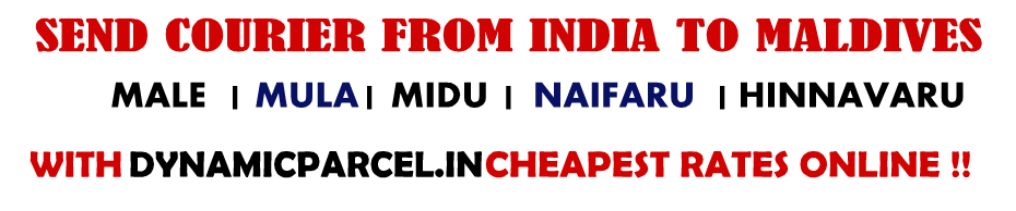 Courier to Maldives from India