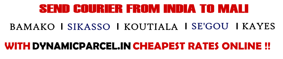 Courier to Mali from Mumbai India