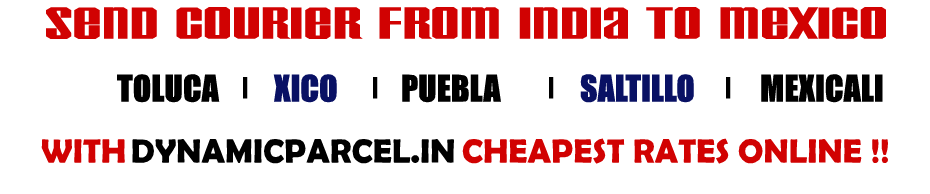 Courier to Mexico from India
