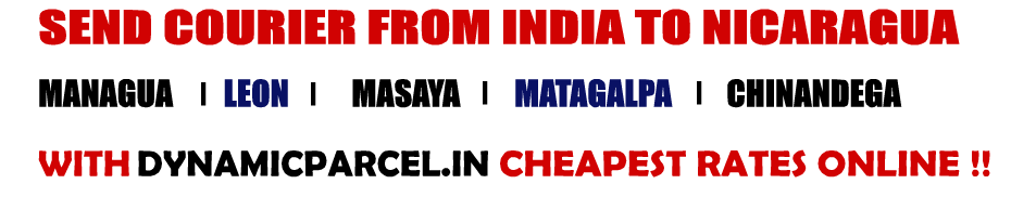 Courier To Nicaragua From Mumbai India Courier Charges