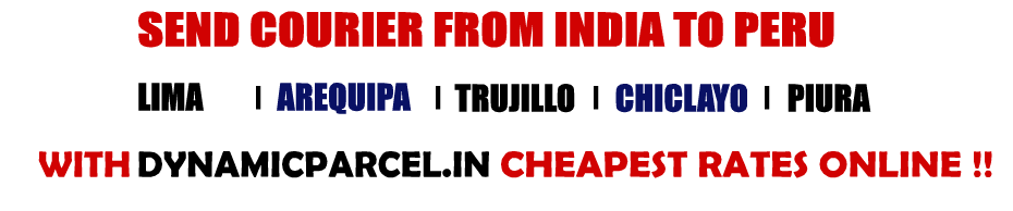 Courier to Peru from Mumbai India