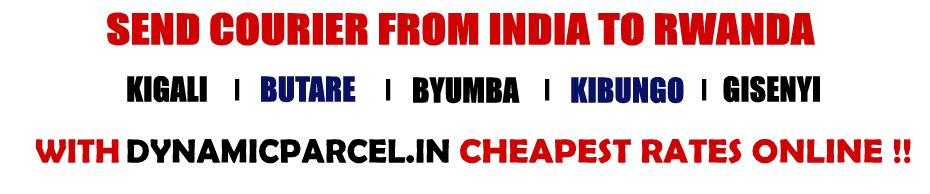Courier to Rwanda from Mumbai India