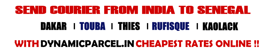 Courier to Senegal from Mumbai India