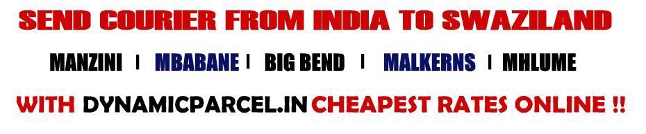 Courier to Swaziland from Mumbai India