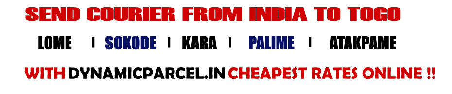 Courier to Togo from Mumbai India