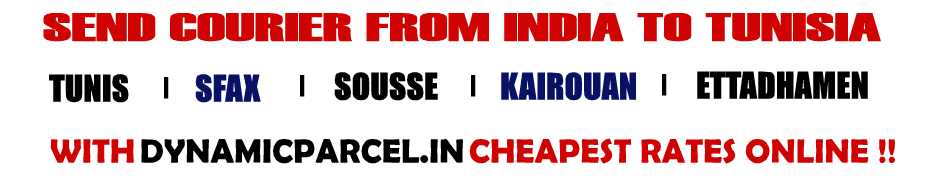 Courier to Tunisia from Mumbai India