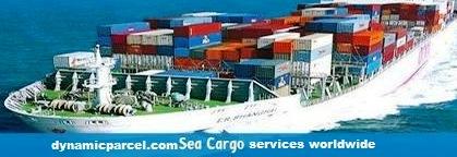 Sending sea cargo service from india